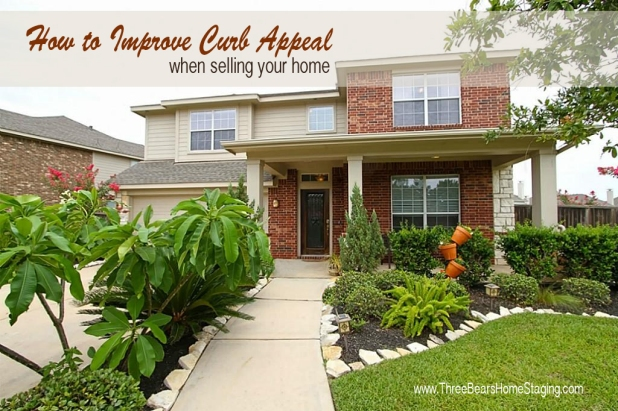 Curb appeal ideas three bears home staging Home selling four diy tricks to maximize the curb appeal