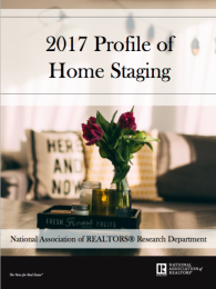 2017 Profile of Home Staging by National Association of Realtors