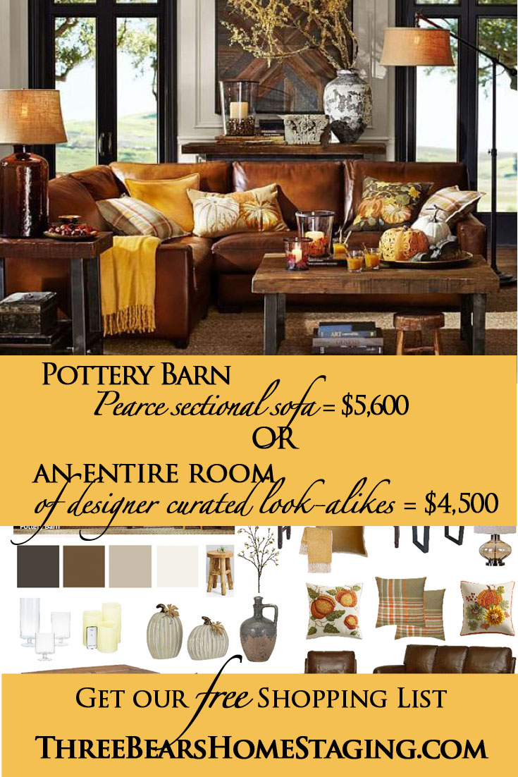 Pottery Barn Inspired Fall Living Room For Less With Free Shopping